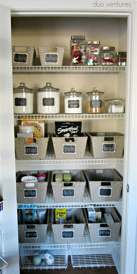 Pantry Organization Baskets by 1000 Ideas About Pantry Storage Containers On