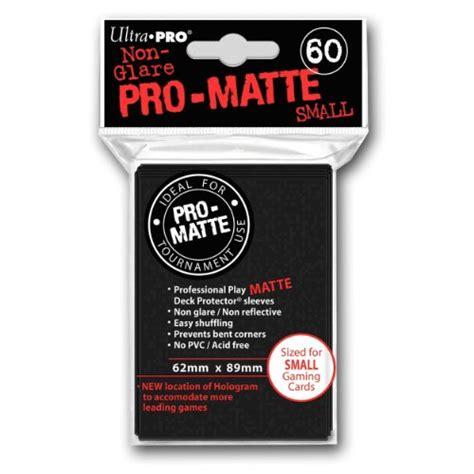 ultra pro pro matte review ultra pro pro matte black deck protector small size 60