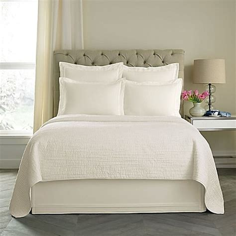 california king bed skirt buy wamsutta 174 double flange 15 inch california king bed skirt in ivory from bed bath