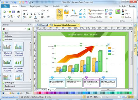 software for creating graphs line graph charting software