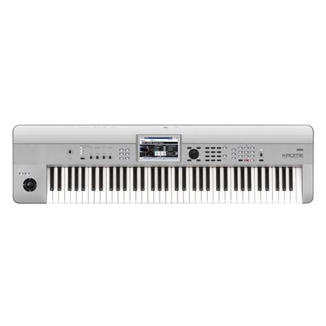 Keyboard Korg Krome 73 korg krome 73 73 key workstation platinum at
