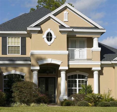 exterior house paint color ideas exterior paint color ideas with white column stand ideas