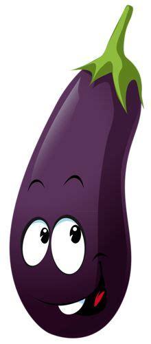 cartoon eggplant cliparts   clip art