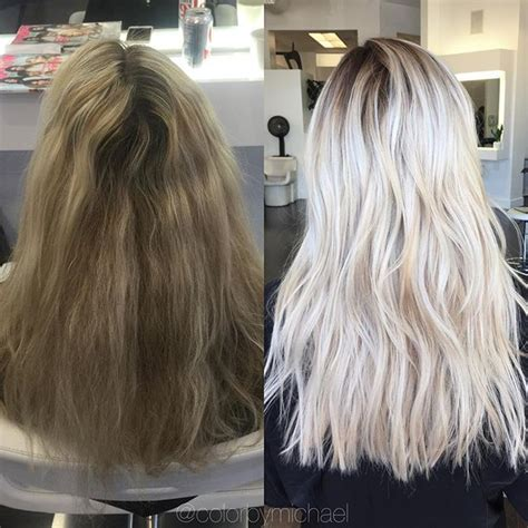 17 Best Ideas About Blonde Hair Roots On Pinterest | dramatic highlights for gray roots pinterest the world s