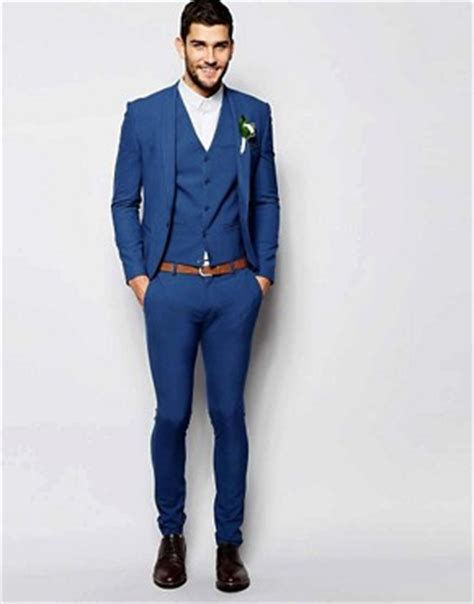 Jaspria Jas Exclusive Blue Formal s suits s designer tailored suits asos