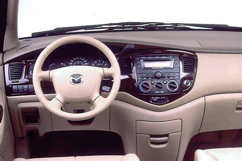 mpv car interior 2000 06 mazda mpv consumer guide auto