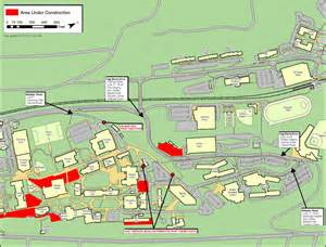 Montclair State University Campus Map by Construction Update For July 3 Montclair State University