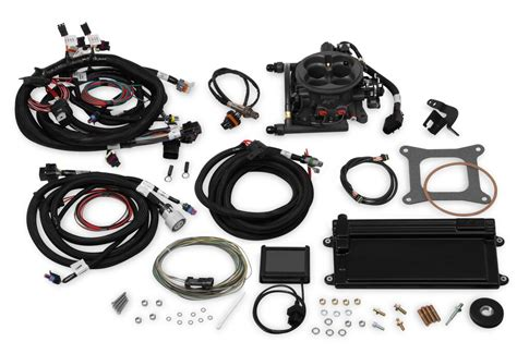 holley terminator hardcore gray ls tbi kit ls ls  reluctor  transmission control