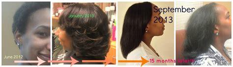 hair growth  month check  post big chop