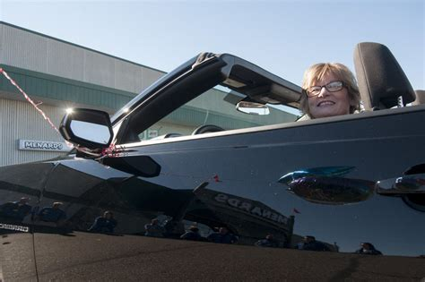 Menards Car Giveaway - michigan woman wins chevy camaro from menards the news wheel