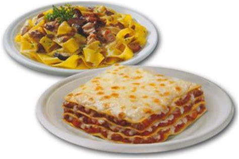 cucina italiana primi piatti piatti pronti per bar pranzo al sacco
