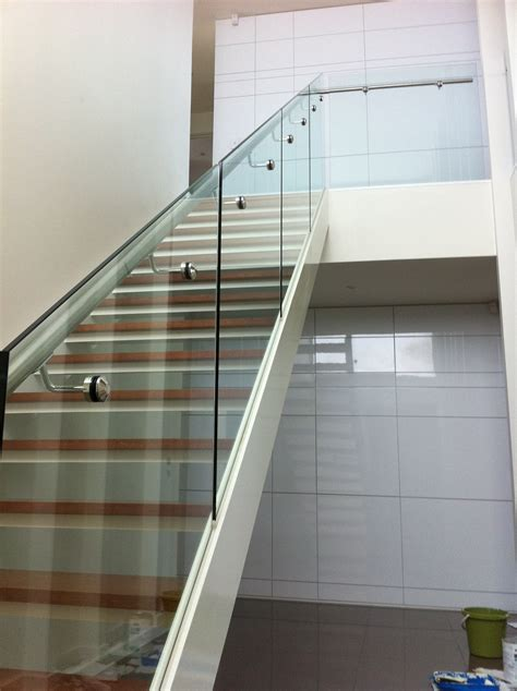 glass stairs banisters glass stair banisters and railings neaucomic com