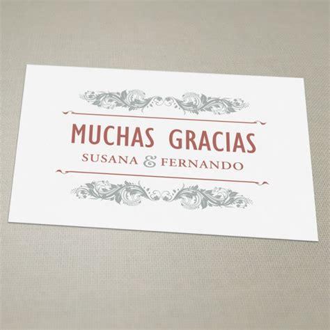imagenes de gracias vintage tarjeta de agradecimiento vintage una boda original