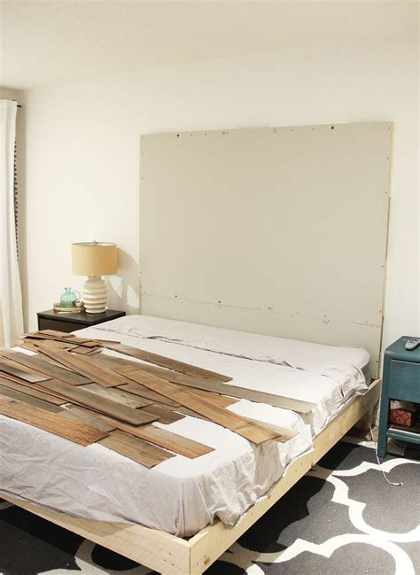 Peel And Stick Headboards How To Make A Diy Wooden Headboard Fresh Crush