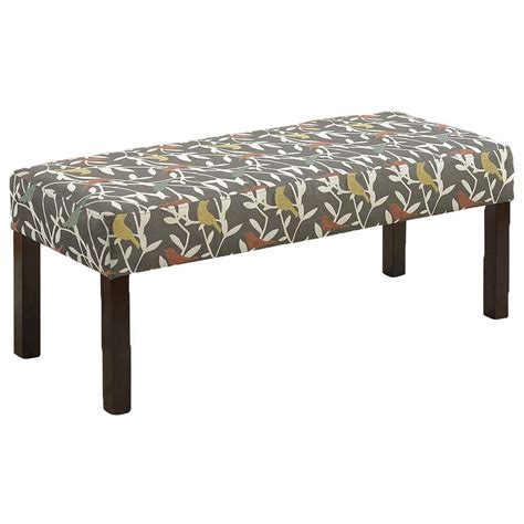cubby bench with cushion home decorators collection amelia rectangle fabric cushion