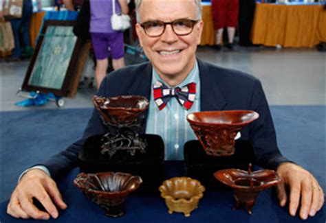 antiques roadshows most valuable find ever rhino cups may set guy brings a 2008 flatscreen tv to antiques roadshow