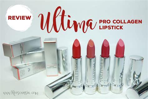 Collagen Ultima 2 ultima ii procollagen lipstick roosvansia