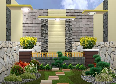 Lu Hias Teras Rumah Gambar Model Taman Minimalis Modern Terbaru