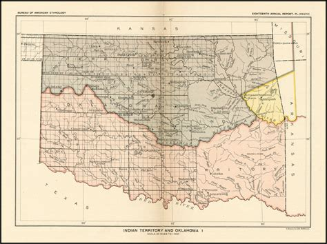 united states department of interior bureau of indian affairs indian territory and oklahoma barry