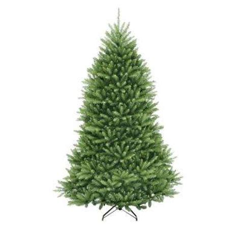 7 5 ft unlit christmas trees artificial christmas
