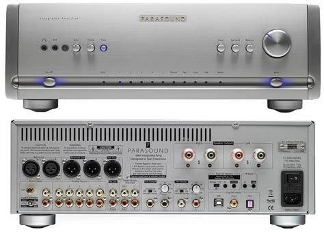 parasound amplifiers halo integrated amp mono power