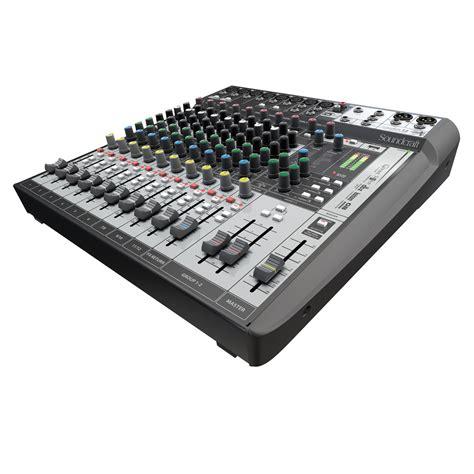 Mixer Audio Soundcraft soundcraft signature 12 mtk analogue mixer with usb at gear4music