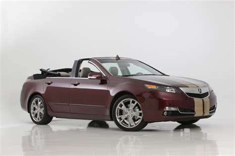 acura tl convertible by newport convertible engineering