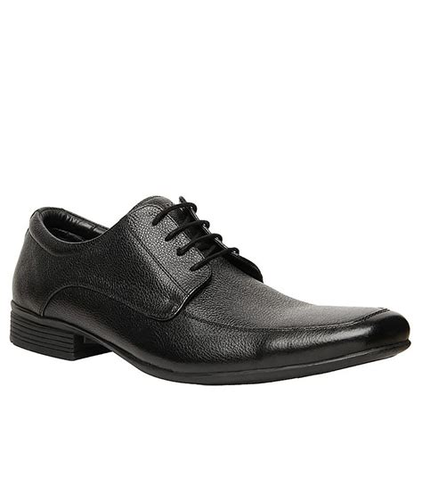 hush puppies black colour formal shoes price in india buy