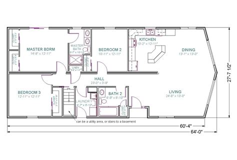 home plans with finished walkout basement escortsea one story house plans with finished walkout basement