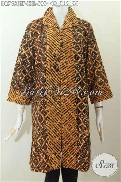 desain baju batik bagus desain baju batik kerja mewah terkini dress batik model