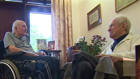 war veterans reunited in care home news