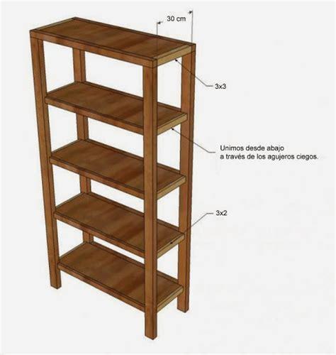 medidas de un estante para libros c 243 mo hacer tu propia estanter 237 a hazlo tu mismo taringa