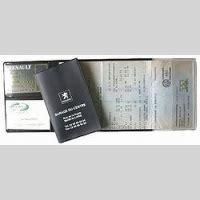 carte grise w garage form o plast porte carte grise porte papiers sant 233