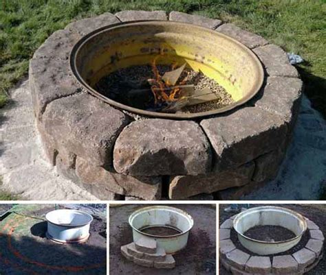diy steel pit ring 27 pit ideas and designs to improve your backyard homesteading