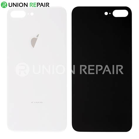 replacement for iphone 8 plus back cover silver