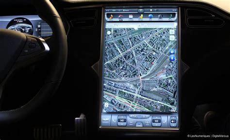 Tesla Navigation Test Tesla Model S P85 La Voiture Du