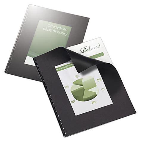 Office Depot Binding Office Depot Brand Designer Textured Binding Covers 8 12 X