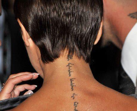 victoria beckham tattoo artist brooklyn beckham gets his first tattoo and it s huge