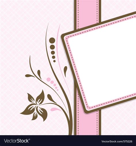 image arts greeting cards templates greeting card template royalty free vector image