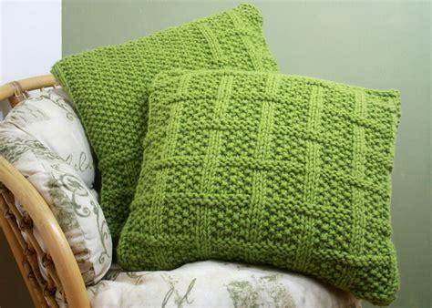 Knitting Pillow Patterns - knitting pattern 003 square lattice pattern cushion covers