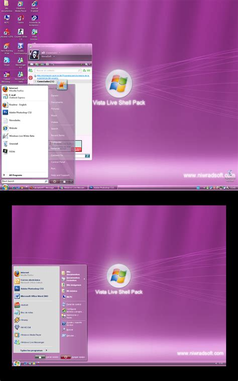 pink pack live for win xp themes for pc vista live shell pack free download wheelfreesoft