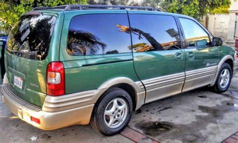 pontiac montana 99 minivan 2k in la ca pontiac montana sport 99 by