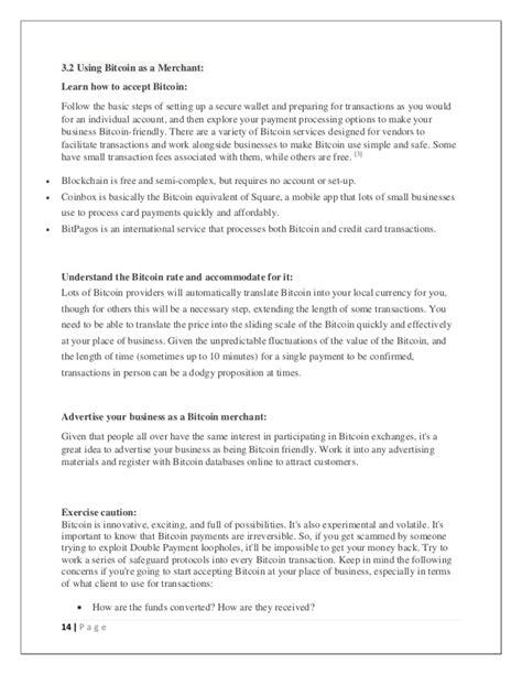 Bitcoin Merchant Services 2 by Seminar Report On Bitcoin