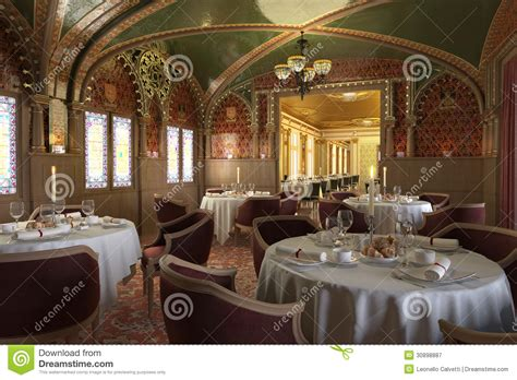 how to photograph interiors old antique restaurant interior with decorations royalty