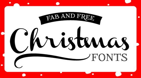 design holiday font font friday fab and free christmas fonts design editor