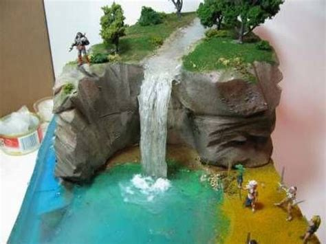 miniature mountain village platform polymers polymer clay miniatures and tutorials on