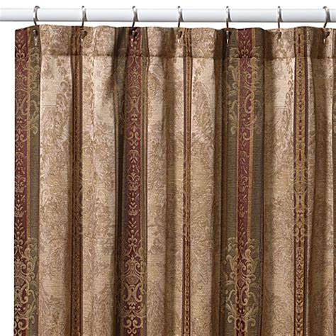 72 in curtains croscill 174 townhouse 72 inch x 96 inch fabric shower