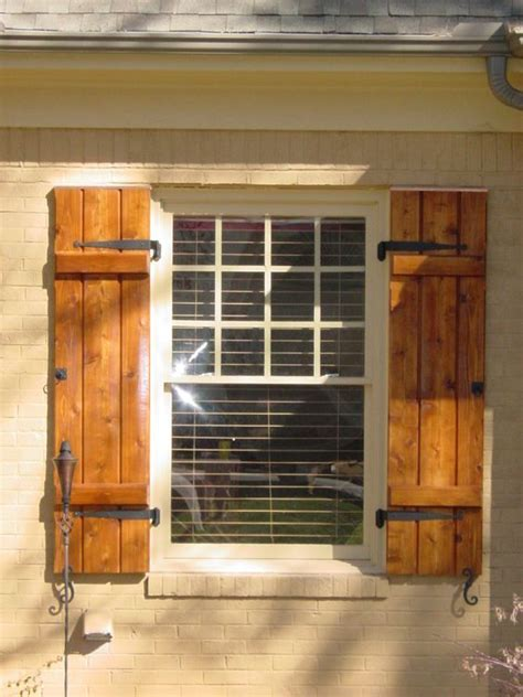 home design hardware cedar shutters exterior 864 228 2296 love the hardware