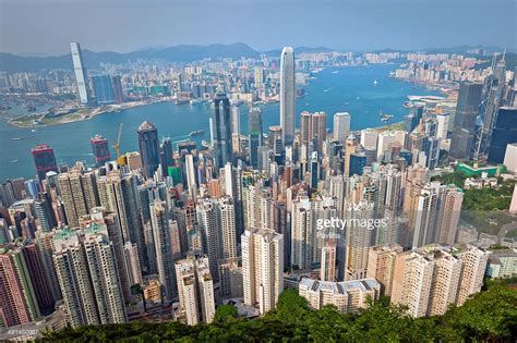 City Mba Hong Kong by Hong Kong City View From The Peak Stock Photo Getty Images