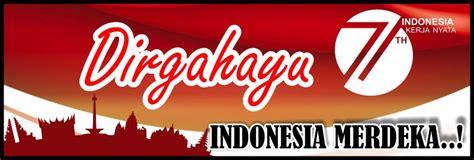 design banner kemerdekaan banner 17 agustus hut ri 71 tahun 2016 free download spanduk